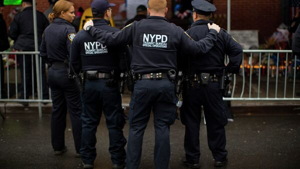 New York City Police officers - Sputnik France