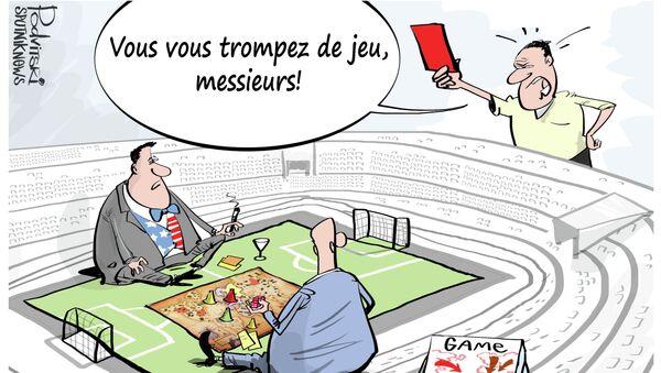 Carton rouge pour les sénateurs US - Sputnik France