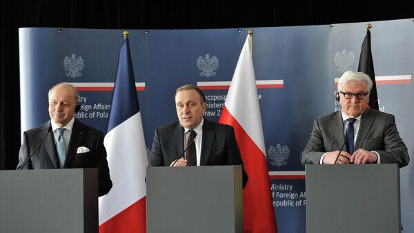 Frankreich, Deutschland und Polen besorgt über Ausstieg Russlands aus KSE-Vertrag - Sputnik France