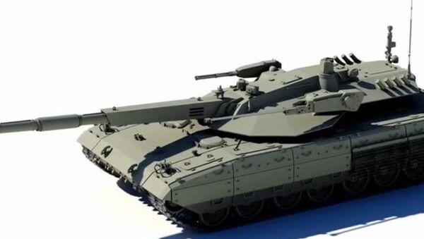 Le nouveau char russe Armata en 3D - Sputnik France