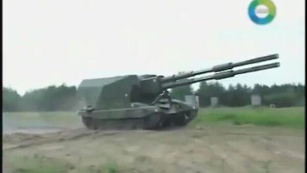 Canon automoteur Koalitsia, fleuron de l'artillerie russe - Sputnik France
