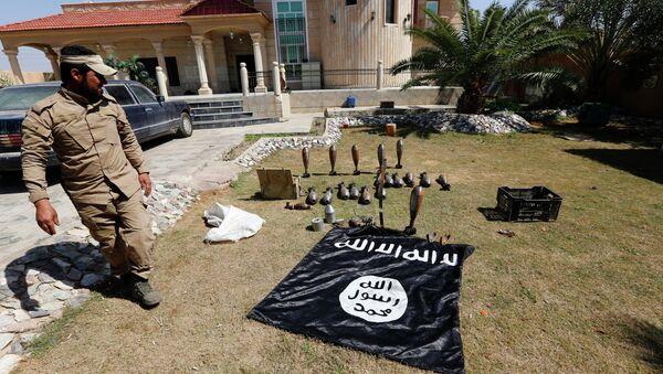 Islamic State flag and ammunition - Sputnik France