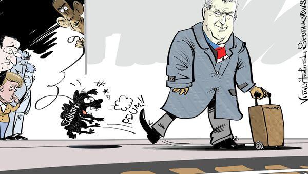 Ne pas franchir la ligne jaune - Sputnik France