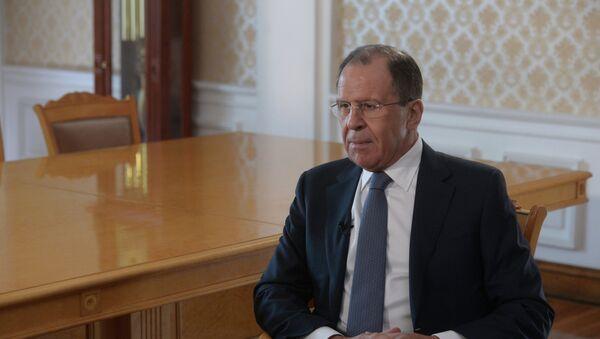 Serguéi Lavrov, ministro de Asuntos Exteriores de Rusia - Sputnik France