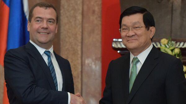 Официальный визит премьер-министра Д.Медведева во Вьетнам - Sputnik France