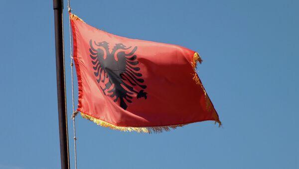 Albanian national flag - Sputnik France