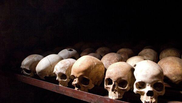 Черепа жертв геноцида в Руанде - Sputnik France