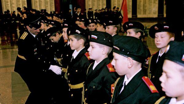Церемония посвящения в кадет - Sputnik France