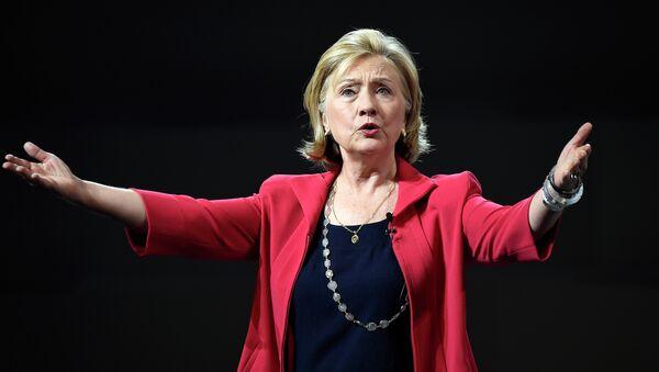 Former US Secretary of State Hillary Clinton - Sputnik France
