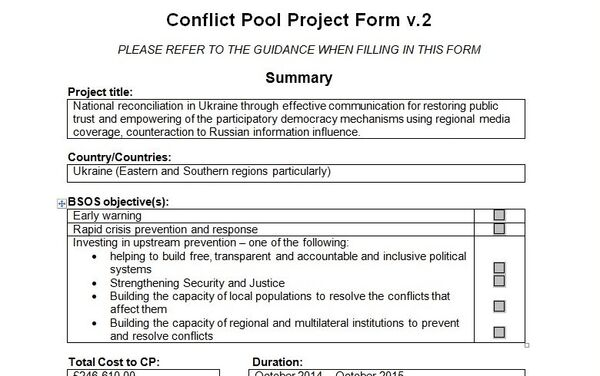 Conflict Pool Project - Sputnik France