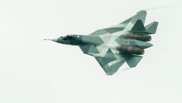 Sukhoi T-50 PAK FA Prototype - Sputnik France