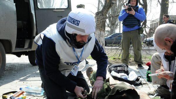 Журналист телеканала Звезда ранен в Донбассе - Sputnik France