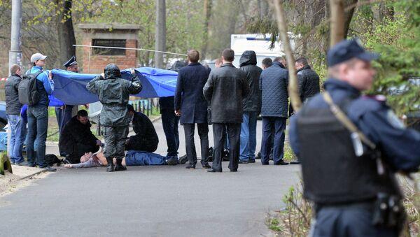 В Киеве застрелили журналиста-оппозиционера Олеся Бузину - Sputnik France