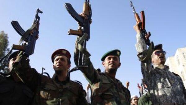 Yémen: manifestation de soutien aux rebelles houthis à Sanaa - Sputnik France