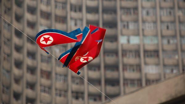 Le drapeau de la Corée du Nord - Sputnik France