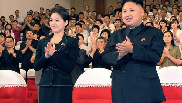 Kim Jong Un et Ri Sol Ju - Sputnik France