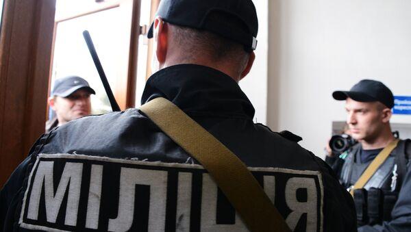 Ukrainische Miliz - Sputnik France