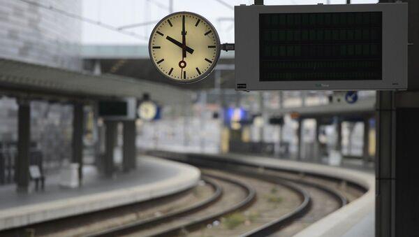La gare d'Anvers - Sputnik France