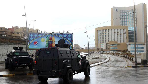 Libyan security forces - Sputnik France