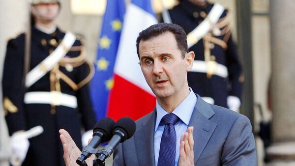 Syria President Bashar al-Assad - Sputnik France