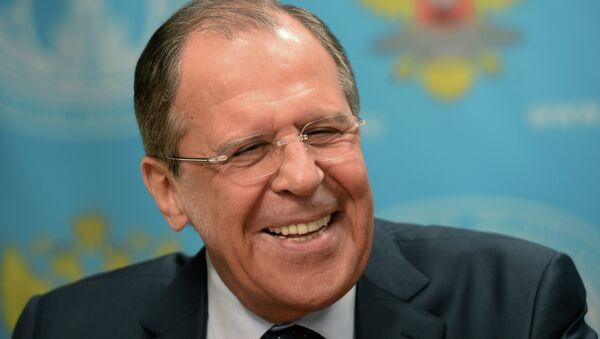 En direct: grande interview de Sergueï Lavrov - Sputnik France