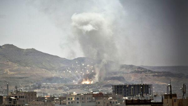 Yemen's capital, Sanaa, on Tuesday, April 21, 2015 - Sputnik France