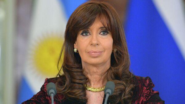 Christine Kirchner, présidente argentine - Sputnik France