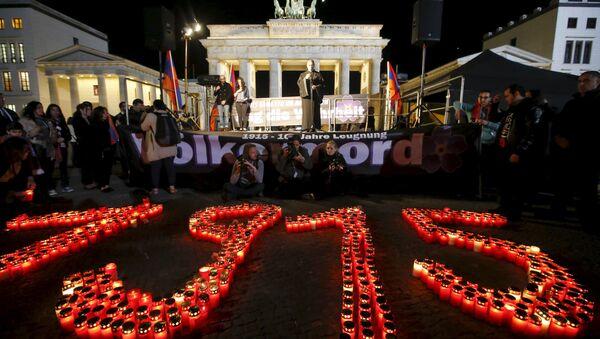 Hommage aux victimes du génocide arménien - Sputnik France