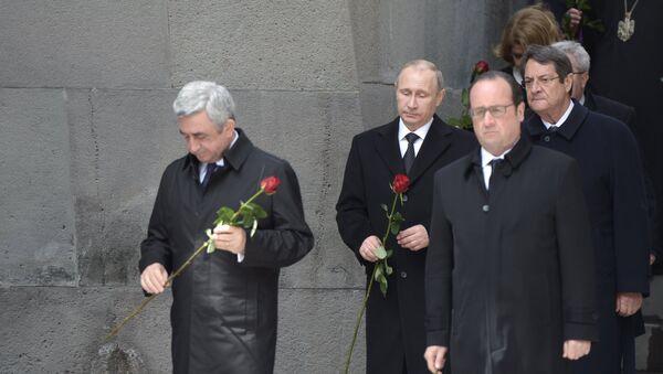 Рабочая поездка президента РФ В.Путина в Армению - Sputnik France