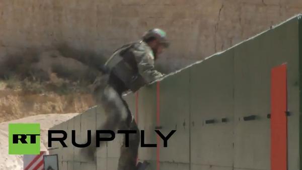 Warrior-2015: compétition des troupes spéciales en Jordanie - Sputnik France