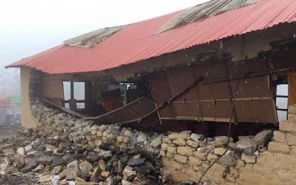 Népal: puissant et meurtrier séisme - Sputnik France