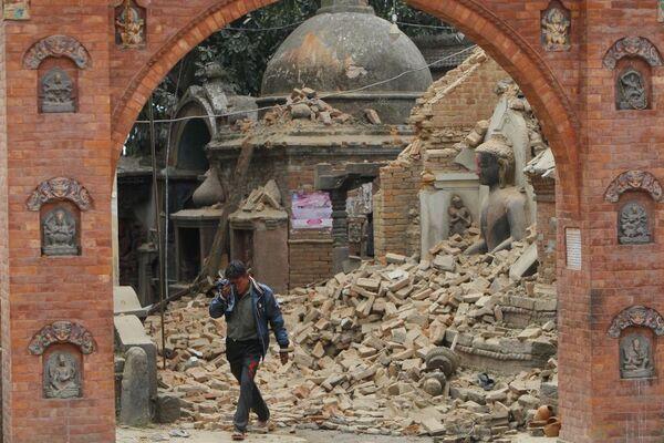 Katmandou: la vie au milieu des ruines - Sputnik France