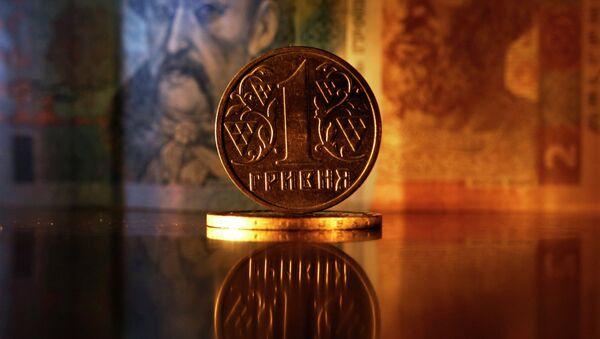Денежные купюры и монеты США и Украины - Sputnik France