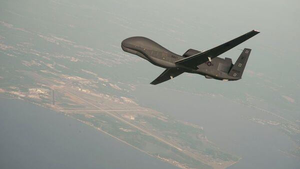 Un drone Global Hawk  - Sputnik France
