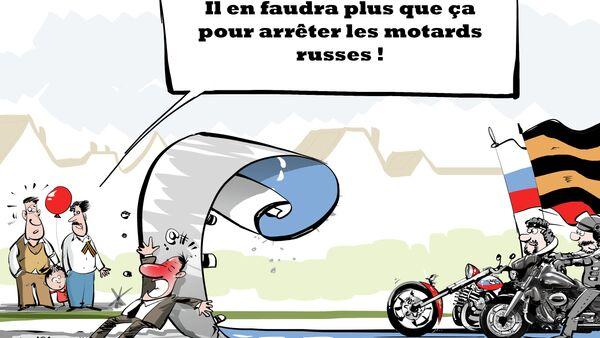 La Pologne interdit le passage de motards russes - Sputnik France