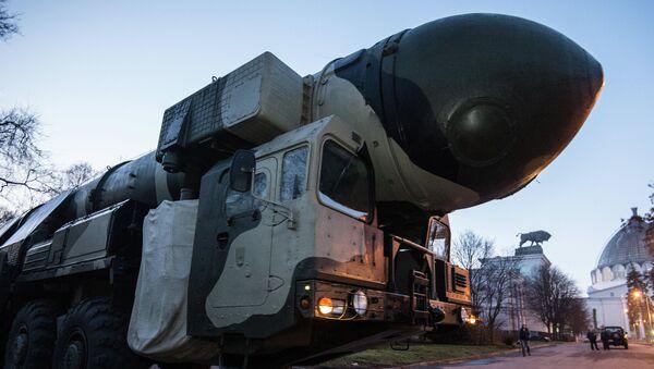 Topol: une rampe de lancement exposée à Moscou - Sputnik France