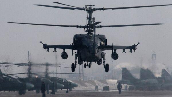 Helicopter flight training in Primorye Territory - Sputnik France