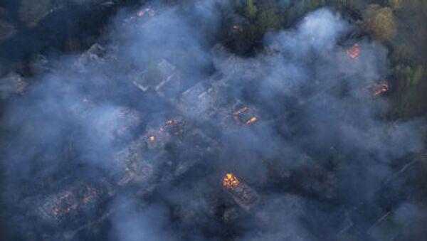 Лесной пожар в Украине - Sputnik France
