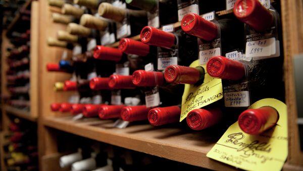 Bouteilles de vin - Sputnik France