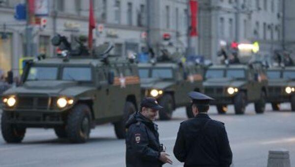 Répétition du défilé militaire du Jour de la Victoire à Moscou - Sputnik France