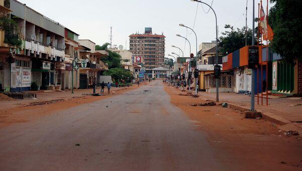 The streets of downtown Bangui - Sputnik France