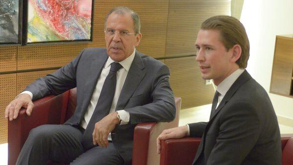 Sergei Lavrov visits Austria - Sputnik France