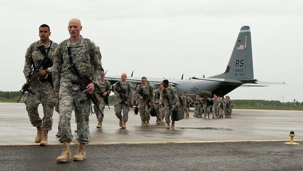 U.S. Paratroopers arrive in Estonia for NATO training - Sputnik France