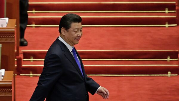 Chinese President Xi Jinping arrives for the opening of the annual full session of the National People's Congress - Sputnik France