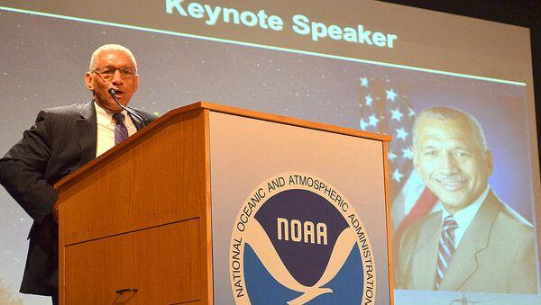 NASA Administrator Charles Bolden speaks at the Space Weather Enterprise Forum. - Sputnik France