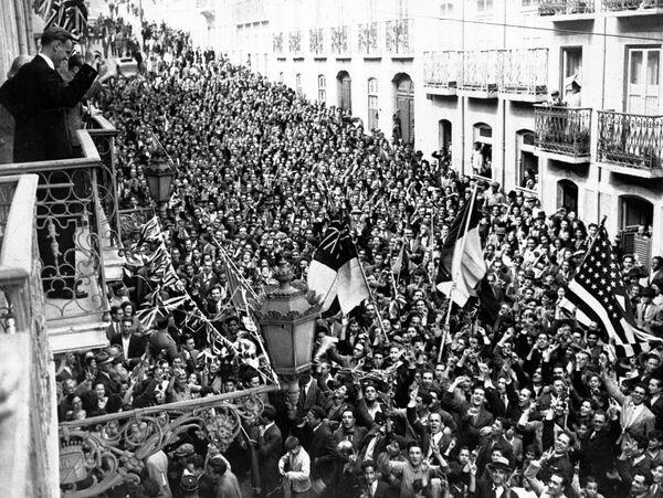 Armistice de 1945: des moments de joie en Europe - Sputnik France