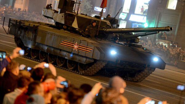 Репетиция военного парада в Москве в ознаменование 70-летия Победы в Великой Отечественной войне 1941-1945 годов - Sputnik France