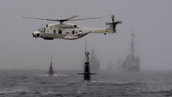 Norvège: exercices navals de l'Otan Dynamic Mongoose 2015 - Sputnik France