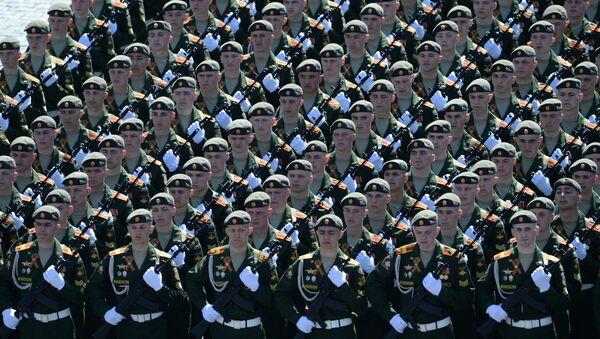 Défilé militaire sur la place Rouge à Moscou - Sputnik France