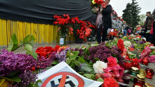 Rally in commemoration of Odessa victims - Sputnik France